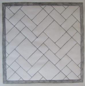 Concrete Mystique Engraving: Draw with Ashlar pattern