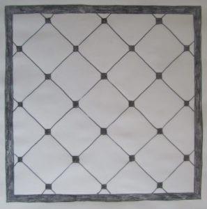 Concrete Mystique Engraving: Basic tile with insets