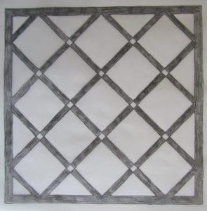 Concrete Mystique Engraving: Tiles with borders