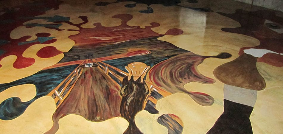 decorative floor coating