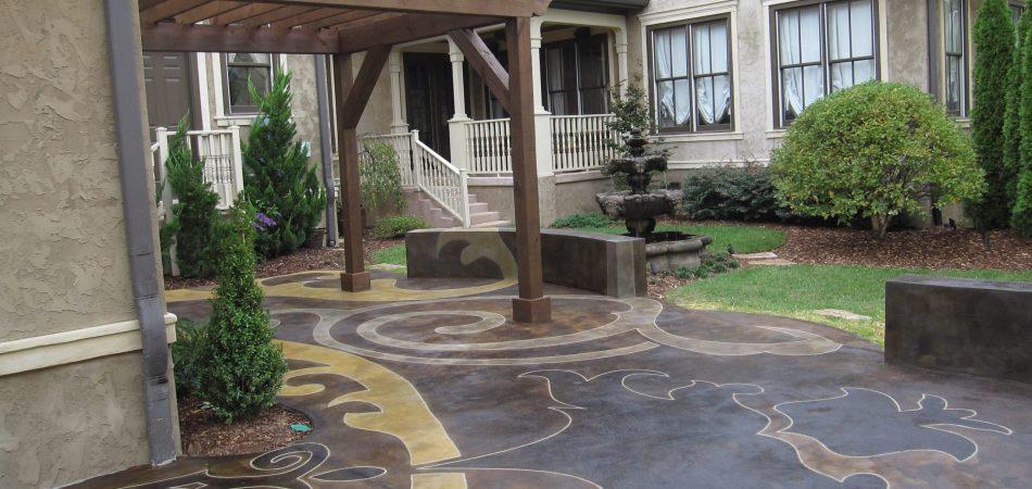 concrete patio Nashville TN