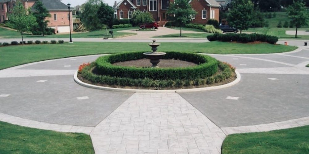 custom concrete driveway TN