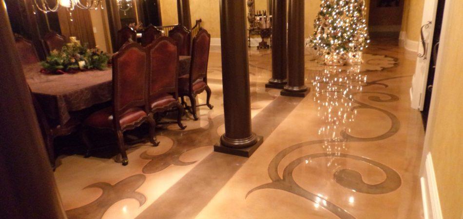 interior concrete design nashville